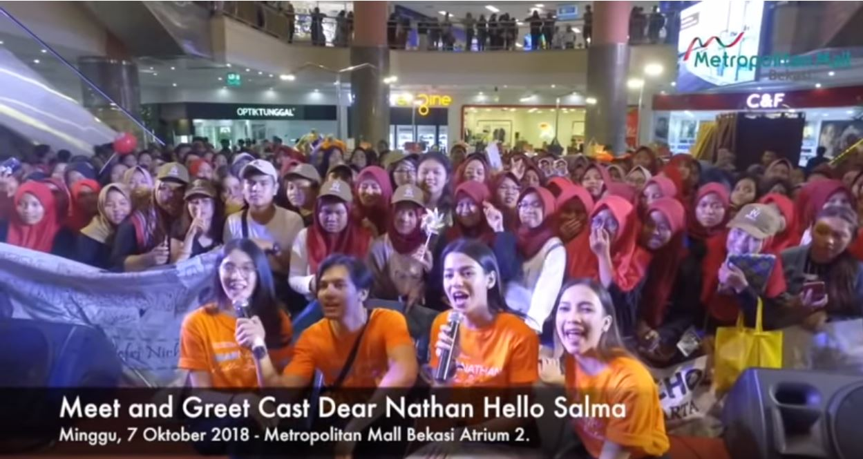 Meet and Greet Dear Nathan Hello Salma With Jefri Nichol