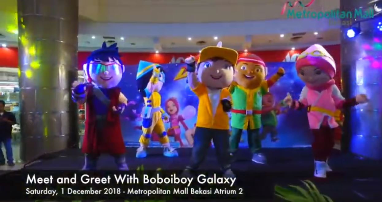 Meet and Greet With Boboiboy Galaxy
