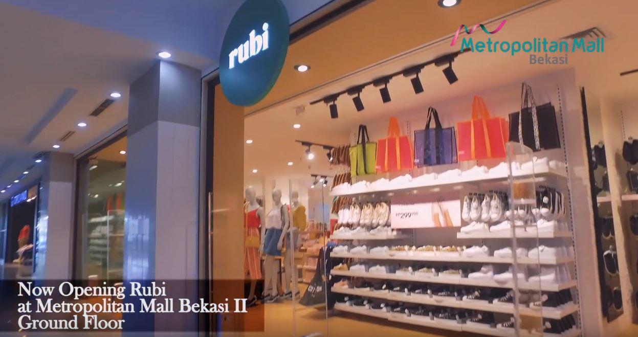 Now Opening RUBI at Metropolitan Mall Bekasi Ground Floor