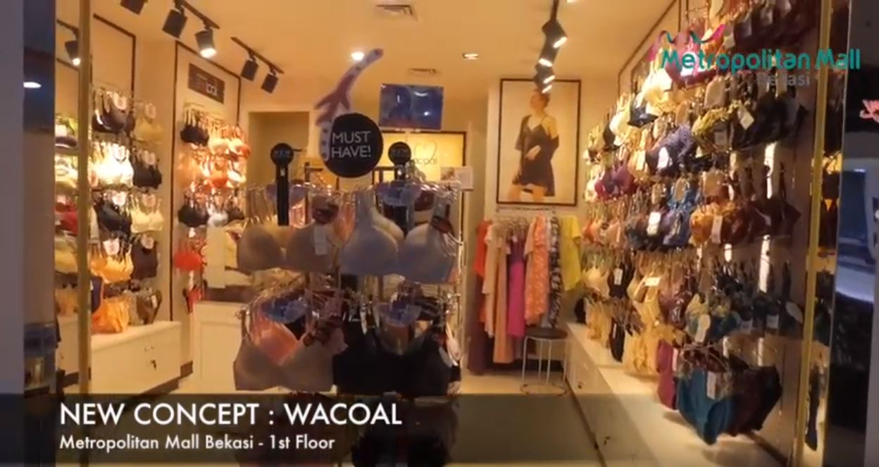 Now Opening Wacoal at Metropolitan Mall Bekasi