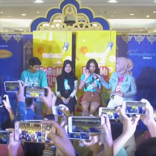 Meet and Greet Bersama Naura dan Devano dalam Film Doremi and You