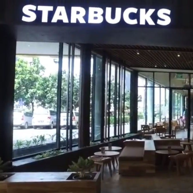 Now Opening Starbucks at Metropolitan Mall Bekasi GF